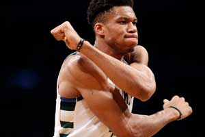 Milwaukee Bucks Greek Freak