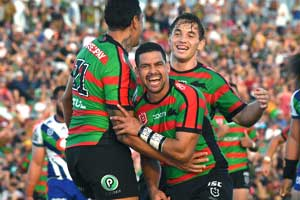 Souths Cody Walker Celebrate